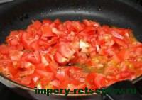 поджарить помидоры