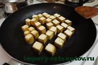 поджарить тофу на сковороде