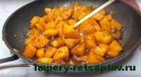 снять картофель с плиты