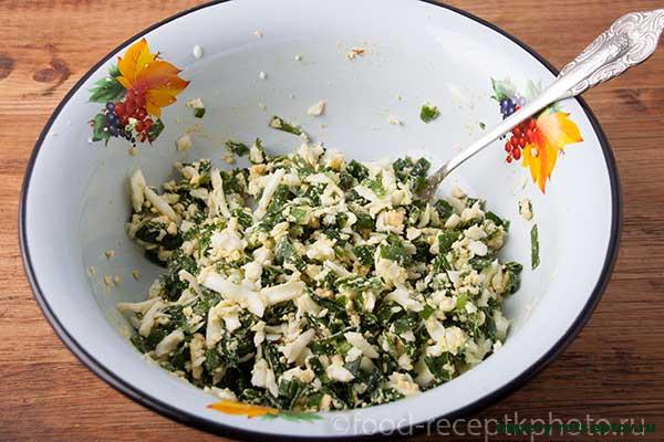 Луковники-пироги с зеленым луком