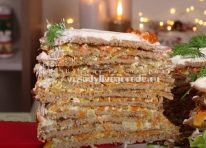 Печеночный торт нежный и небыкновенно вкусный