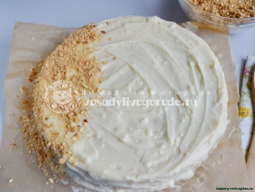 Торт Наполеон очень вкусный классический рецепт